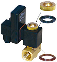 EZ 1 Timer operated solenoid drain
